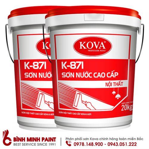 Sơn Kova cao cấp trong nhà K871
