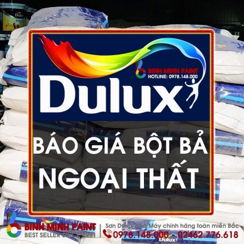 Báo Giá Bột Bả Dulux Ngoài Nhà Mới Nhất Năm 2020 Bình Minh Hà Nội