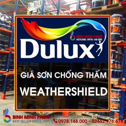 Báo Giá Sơn Chống Thấm Dulux Mới Nhất Weathershiled - Y65 Mới Nhất Bình Minh Hà Nội