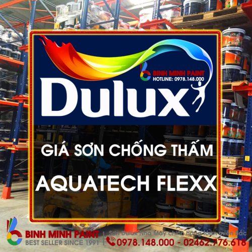 Báo Giá Sơn Chống Thấm Dulux Aquatech Flex- W759 Mới Nhất Bình Minh Hà Nội