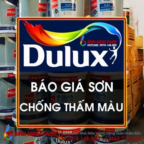 Báo Giá Sơn Chống Thấm Màu Dulux Mới Nhất Năm 2020 Bình Minh Hà Nội