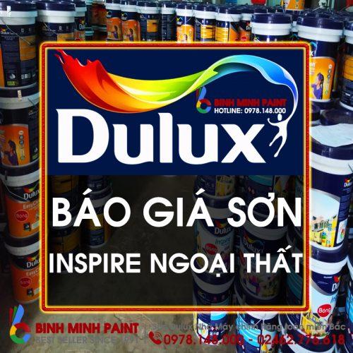 Báo Giá Sơn Dulux Insipire Ngoại Thất Bóng Mới Nhất Năm 2020 Bình Minh Hà Nội