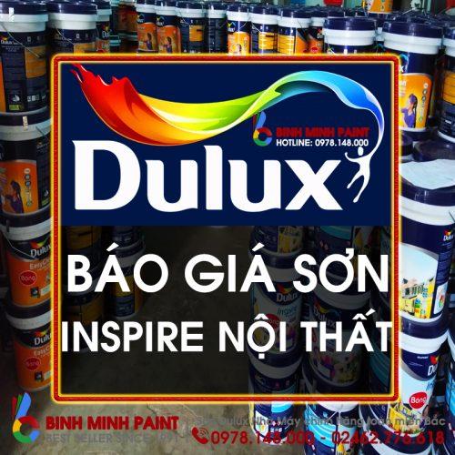 Báo Giá Sơn Dulux Insipire Nội Thất Bóng Mới Nhất Năm 2020 Bình Minh Hà Nội