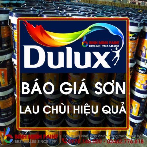 Báo Giá Sơn Dulux Lau Chùi Hiệu Quả Bóng Mới Nhất Năm 2020 Bình Minh Hà Nội