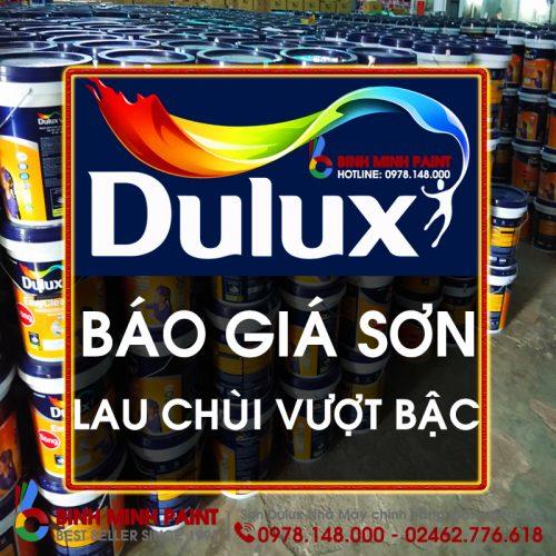 Báo Giá Sơn Dulux Lau Chùi Vượt Bậc Bóng Mới Nhất Năm 2020 Bình Minh Hà Nội