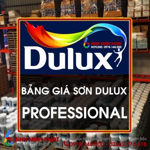 Bảng Báo Giá Sơn Dulux Professional Mới Nhất Năm 2020 Bình Minh Hà Nội