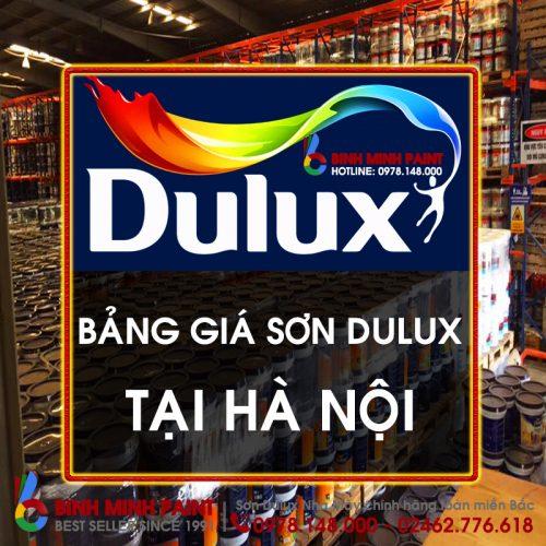 Bảng Báo Giá Sơn Dulux Hà Nội Mới Nhất Năm 2020 Bình Minh Hà Nội