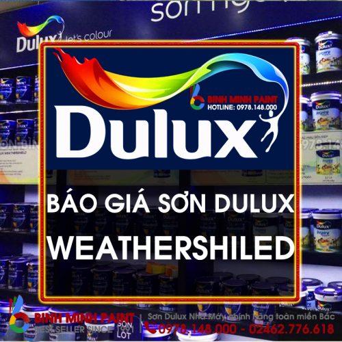 Báo Giá Sơn Dulux Weathershiled Mới Nhất Năm 2020 Bình Minh Hà Nội