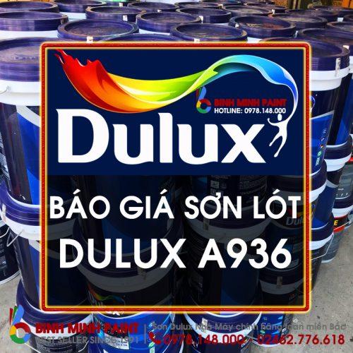 Báo Giá Sơn Lót Dulux A936 Mới Nhất Năm 2020 Bình Minh Hà Nội