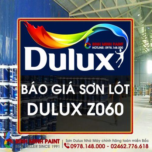 Báo Giá Sơn Lót Dulux Z060 Mới Nhất Năm 2020 Bình Minh Hà Nội