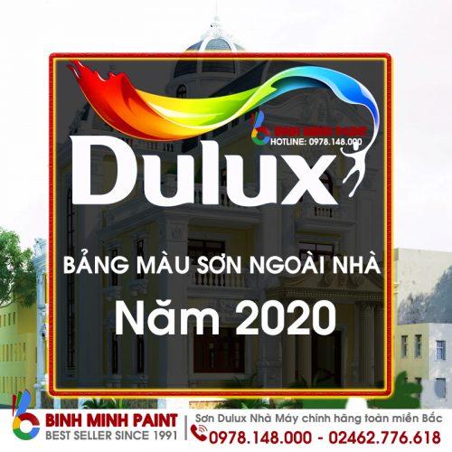 Bảng Màu Sơn Dulux Ngoài Trời Mới Nhất 2020 Bình Minh Hà Nội