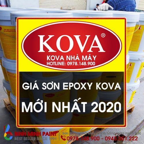 Báo Giá Sơn KOVA KL5 Mới Nhất Năm 2020