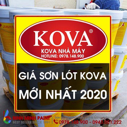 Báo Giá Sơn Lót KOVA KL5 Mới Nhất Năm 2020