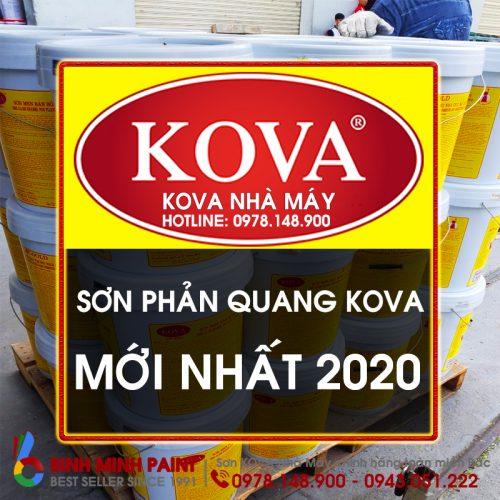 Báo Giá Sơn Phản Quang KOVA Mới Nhất Năm 2020